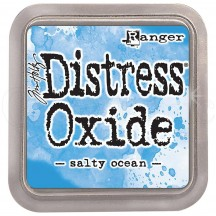 Ranger Tim Holtz Salty Ocean Distress Oxide Ink Pad TDO56171 blue
