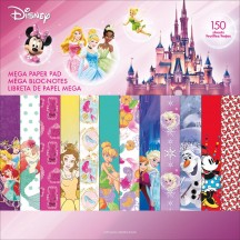 "Sandylion Disney Girl 2 12""x12"" Mega Paper Pad 150 sheets SC9605"