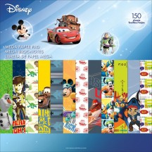 "Sandylion Disney Boy 2 12""x12"" Mega Paper Pad 150 sheets SC9606"