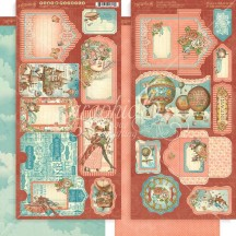 Graphic 45 Imagine Double-Sided Cardstock Tags and Pockets 4501720