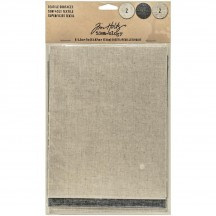 Tim Holtz Idea-ology Textile Surfaces 6 Sheets - TH93294