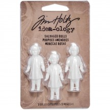 Tim Holtz Idea-ology Salvaged Dolls TH93196