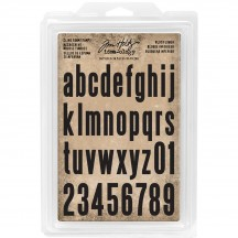 Tim Holtz Idea-ology Cling Foam Stamps Block Lower TH93578