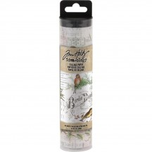 Tim Holtz Idea-ology Collage Paper - Aviary TH93706