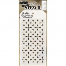 Tim Holtz Crossed Layering Stencil Mask THS090