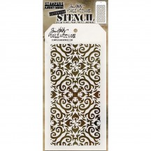 Tim Holtz Flames Layering Stencil Mask THS091