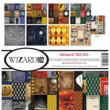 """Reminisce Wizard 102 12""""x12"""" Paper Crafting Kit WIZA-201"""