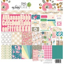"Webster's Pages My Happy Place 12""x12"" Collection Pack WPK88"