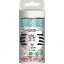 Me & My Big Ideas Create 365 Everyday Decorative Washi Tape Collection WTT-32