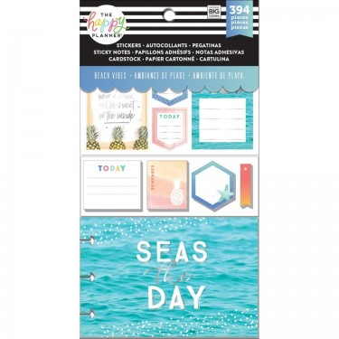 Me & My Big Ideas CLASSIC Happy Planner Multi Accessory Pack Beach Vibes  PLMP-08
