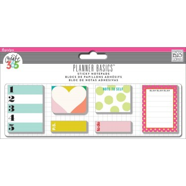 Me My Big Ideas Create 365 The Happy Planner Basics Bright Small Sticky Notes Posb 03