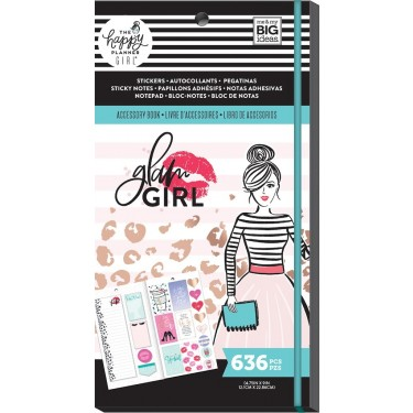Me & My Big Ideas The Happy Planner Girl Accessory Pack - Glam Girl PPSA-04