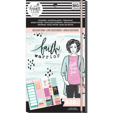 Me & My Big Ideas The Happy Planner Girl Accessory Pack - Faith Warrior  PPSA-06