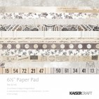 "Kaisercraft Pen & Ink 6.5""x6.5"" Specialty Paper Pad PP1041 40 Sheets"
