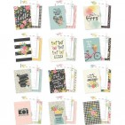 Simple Stories Carpe Diem Hello A5 Monthly Planner Inserts 10443