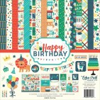 "Echo Park Happy Birthday Boy 12""x12"" Collection Kit HBB141016"