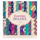 """doCrafts Papermania Eastern Opulence 12""""x12"""" Paper Pack 160275"""