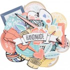Kaisercraft Crafternoon Collectables Die-Cut Pieces CT972