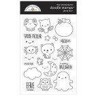 Doodlebug Ghost Town Halloween Doodle Stamps Clear Photopolymer Stamp Set 6976