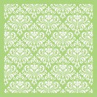 "Kaisercraft Ornate Damask 6""x6"" Stencil Template IT448"