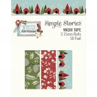 Simple Stories Winter Farmhouse Washi Tape 3 Roll Pack 11625