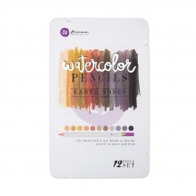 Prima Watercolour Pencils - Earth Tones 576738