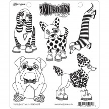 Dylusions Cling Mount Sets Collection from Ranger - Puppy Dog Tales DYR55518