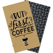 Echo Park Traveler's Notebook Coffee & Friends Daily Calendar Inserts TNO1003