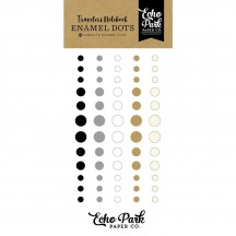 Echo Park Traveler's Notebook Coffee & Friends Enamel Dots TNO1007