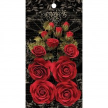 Graphic 45 Rose Bouquet Collection Triumphant Red 4501785