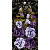 Graphic 45 Rose Bouquet Collection French Lilac & Purple Royalty 4501787