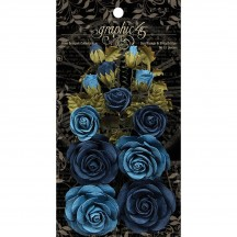 Graphic 45 Rose Bouquet Collection Bon Voyage & French Blue 4501788
