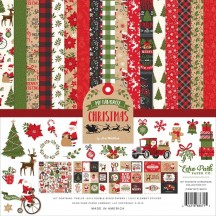 "Echo Park My Favorite Christmas 12""x12"" Collection Kit MFC190016"