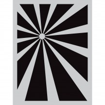 "Darkroom Door Sunshine 4.5""x6"" Small Stencil DDSS013"