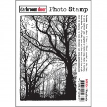 Darkroom Door Woodlands Rubber Photo Stamp - DDPS041
