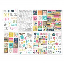 Simple Stories Crafty Girl Stickers 10010