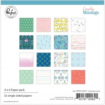 "Pinkfresh Studio Everyday Musings 6""x6"" Paper Pack RC100219"