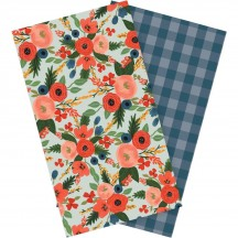Echo Park Traveler's Notebook Lined Inserts Full Bloom TNB1002