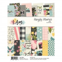 "Simple Stories I Am 6""x8"" Double-Sided Paper Pad 10038"