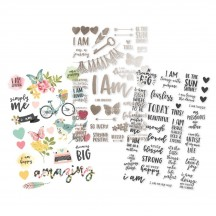 Simple Stories I Am Clear Stickers 10042