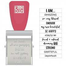 Simple Stories I Am Phrase Roller Stamp 10045