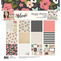 "Simple Stories Bloom 12""x12"" Collection Kit 10047"