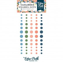Echo Park Traveler's Notebook Enamel Dots Fancy Flora TNF1007