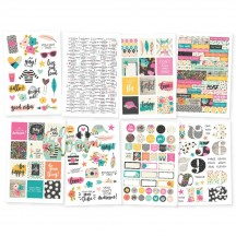 Simple Stories Good Vibes Stickers 10091
