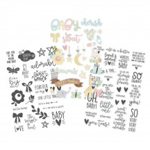 Simple Stories Oh, Baby! Clear Stickers 10133
