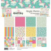 "Simple Stories Dream Big 12""x12"" Collection Kit 10206"