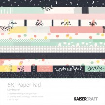 "Kaisercraft Daydreamer 6.5""x6.5"" Specialty Paper Pad PP1022 40 Sheets"