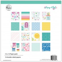 "Pinkfresh Studio Keeping it Real 12""x12"" Collection Kit 102221"