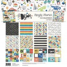"Simple Stories Lil' Dude 12""x12"" Collection Kit 10224"