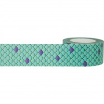 Little B Mermaid Scales Designer Washi Tape 15m 102368